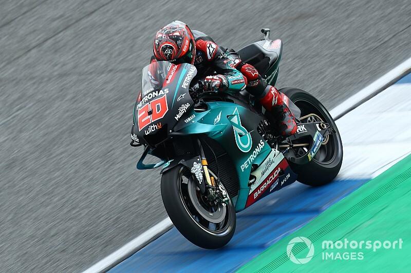 Thailand MotoGP: Quartararo leads Yamaha 1-2-3 in FP2