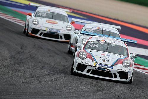 """Carrera Cup Italia al Porsche Festival, Iaquinta avvisa i rivali: """"Troppo presto per gestire!"""""""