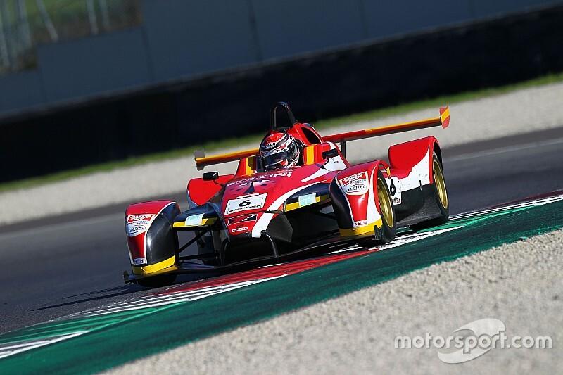 Giacomo Pollini si laurea Campione Italiano Sport Prototipi