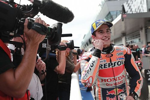 Márquez diz que errou em volta que bateu recorde no Red Bull Ring