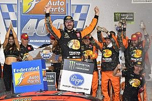 Martin Truex Jr. first spins, then wins Richmond Cup race