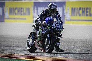 Warm-up - Viñales le plus rapide sur piste humide