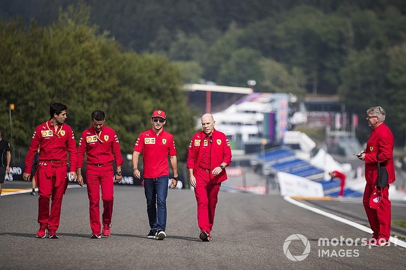 Leclerc legalább az egyik ziccert belőné a Ferrarival Spában, vagy Monzában