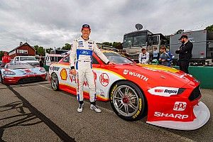 Supercars Mustang makes USA track debut
