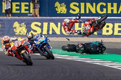 El semáforo del GP de Gran Bretaña de MotoGP