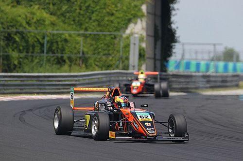 F4: Dennis Hauger primeggia nelle Libere sul circuito dell'Hungaroring