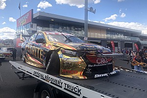 Bathurst 1000: Erebus Holden badly damaged in 20G crash