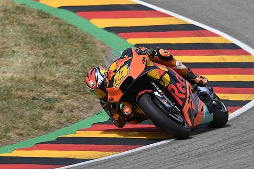 "KTM tyre degradation made Sachsenring feel like ""dirt track"""