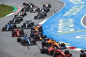 Sainz, aún falto de confianza con el Ferrari F1 en las salidas