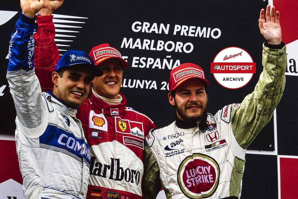 Archive: Why BAR's first podium wasn't a turning point for Villeneuve