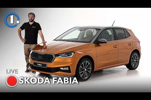 Skoda Fabia, tutta nuova e vista dal vivo