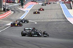 """Hamilton prédit """"un train"""" en Qualifs Sprint"""