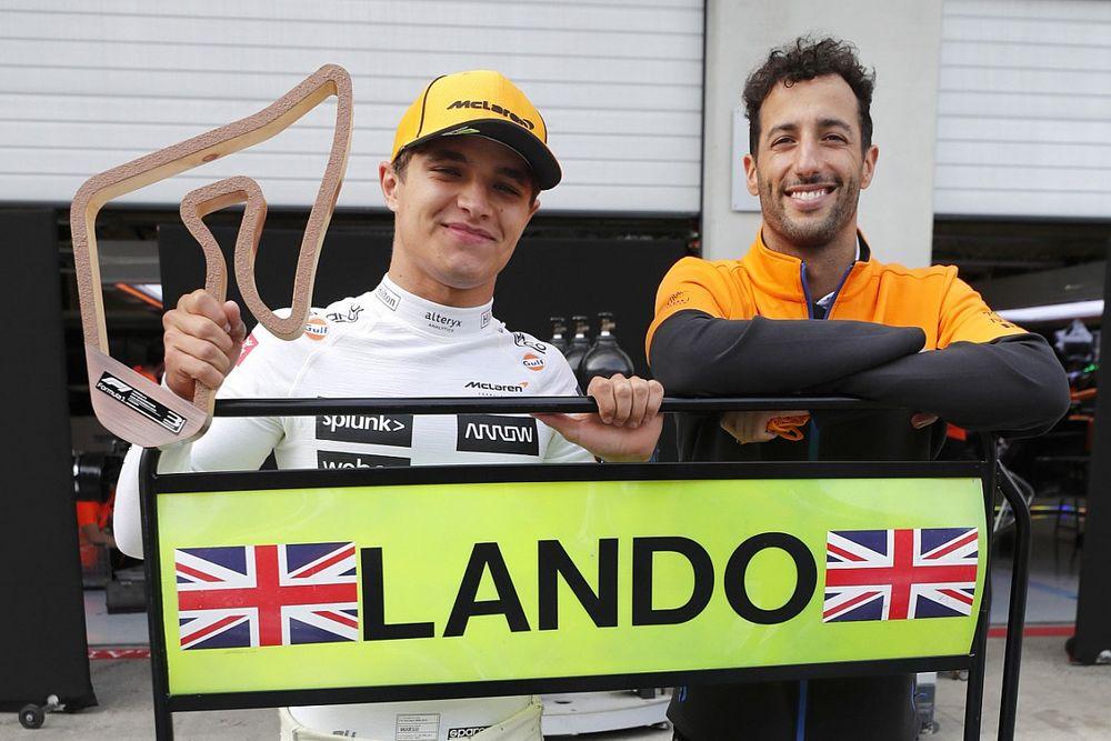 Norris en Ricciardo willen goede vorm McLaren doortrekken