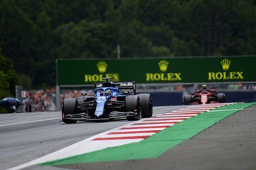 Las mejores imágenes del arranque del GP de Austria de F1