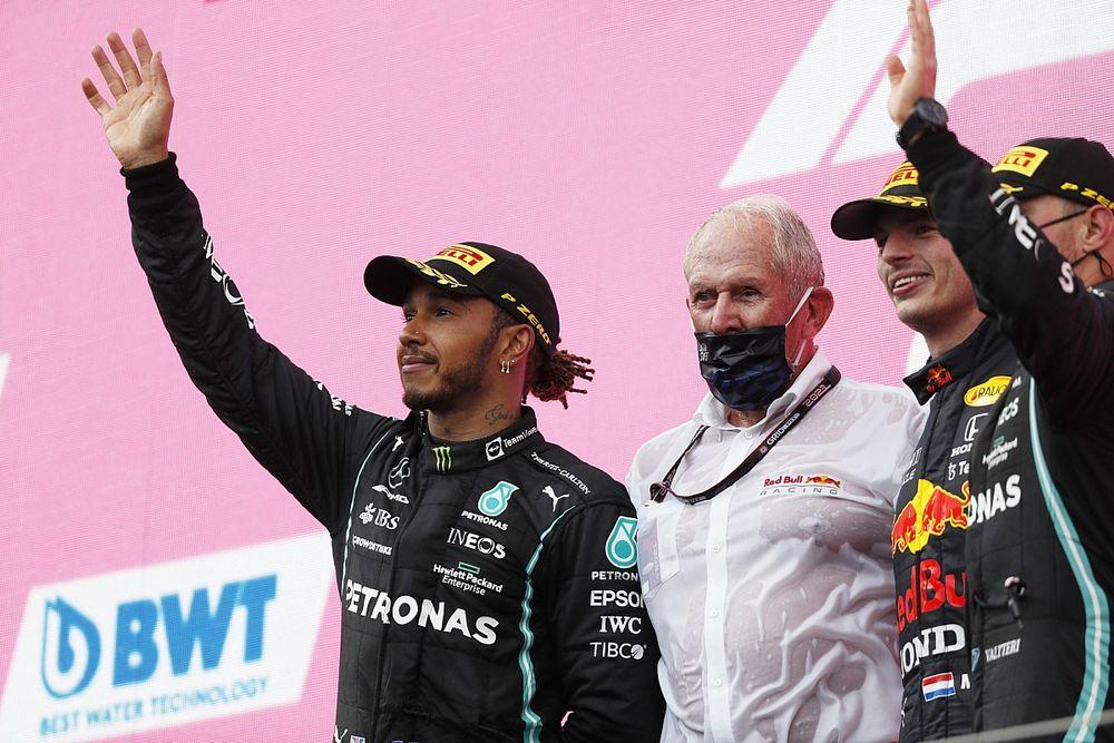 """F1 - Marko zomba de Hamilton: """"Tem uma tendência para o teatro"""""""