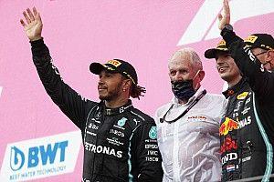 """F1 - Hamilton rebate acusação de """"show"""" de Marko: """"Nem escuto o que essas pessoas falam"""""""