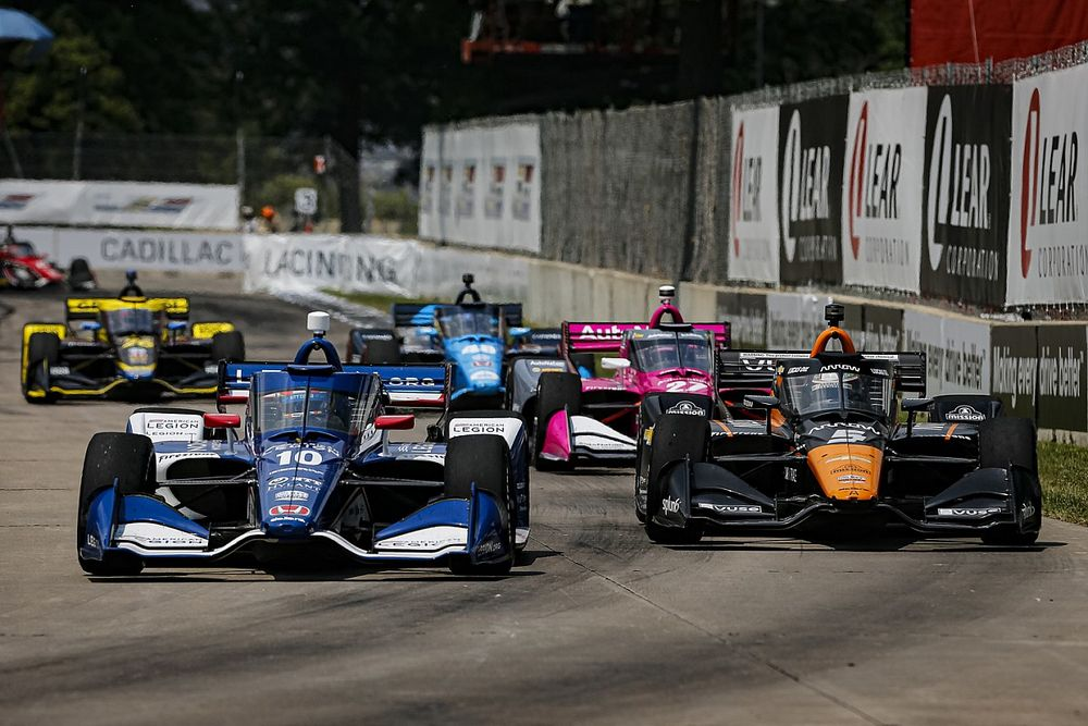 Herta, Rahal puzzled by O'Ward's restart pace, Palou less so