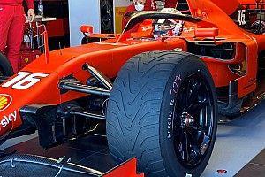 Leclerc test regenbanden op zonnig Paul Ricard