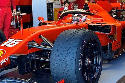 Ferrari: Leclerc al Ricard con le Pirelli da 18 rain