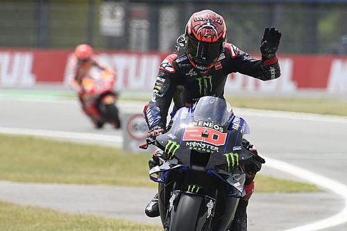 Quartararo domináns teljesítményével Yamaha 1-2 a Holland GP-n, Marquez nagyot zárkózott a 20. helyről
