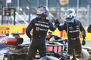 """Sıralama turlarında Hamilton'a hava koridoru sağlayan Bottas: """"Biz bir takımız"""""""