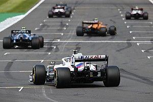La parrilla de salida para la carrera al sprint de la F1 en Silverstone
