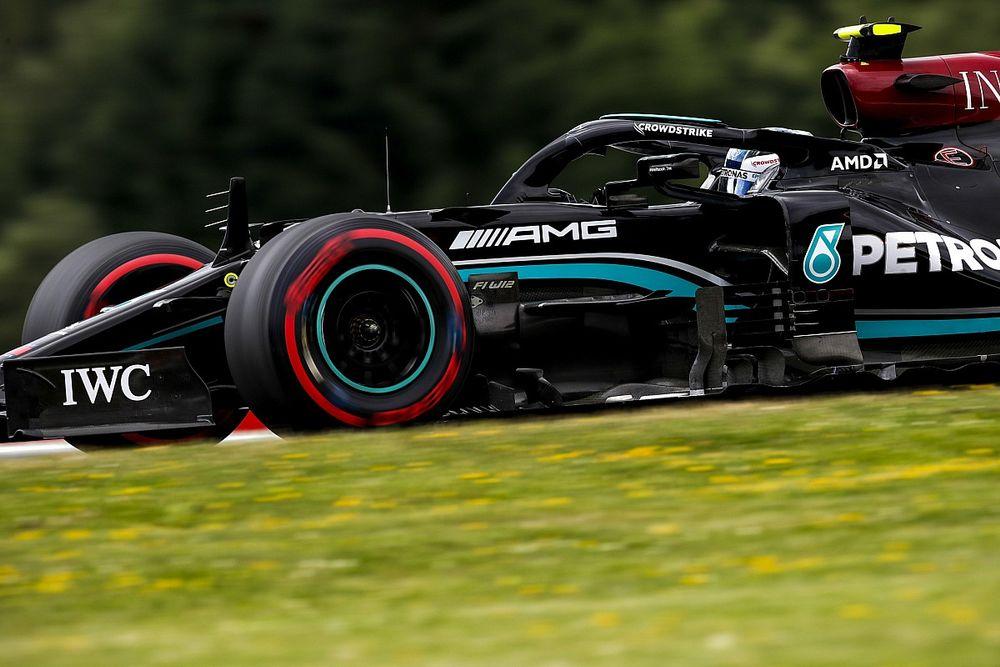 Bottas krijgt gridstraf voor Stiermarken GP na spin in pitstraat