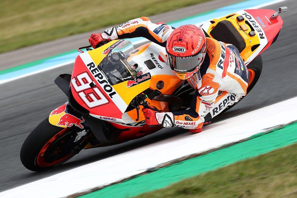 """S'estimant """"chanceux"""", Márquez veut être """"plus en sécurité"""" sur la Honda"""