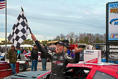 Ty Gibbs uses bump and run to earn first ARCA victory