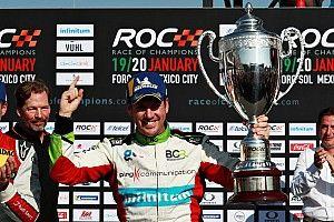 Benito Guerra es campeón del Race Of Champions México 2019