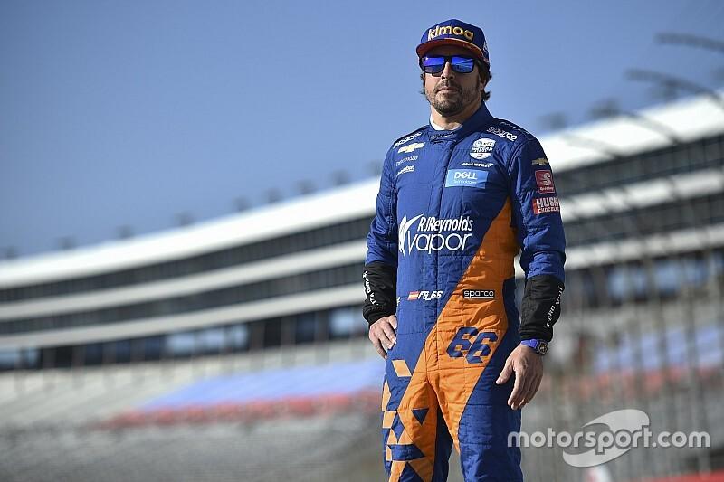 Galeri: Alonso'nun Teksas'taki IndyCar testi
