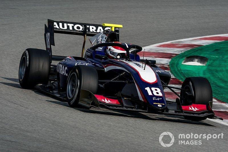 F3, Barcellona: Pedro Piquet precede di un soffio Juri Vips nelle Libere