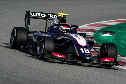 Barcelona F3: Piquet tops first practice of new era