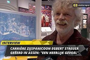 """Eerbetoon aan zijspanicoon en TT-winnaar Egbert Streuer: """"Heerlijk gevoel"""""""