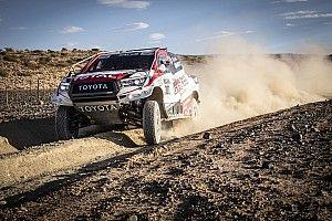 Vídeo: así pilota Fernando Alonso el Toyota del Dakar