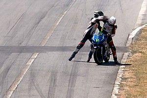 Após carona, pilotos saem no tapa em competição de motos na Costa Rica