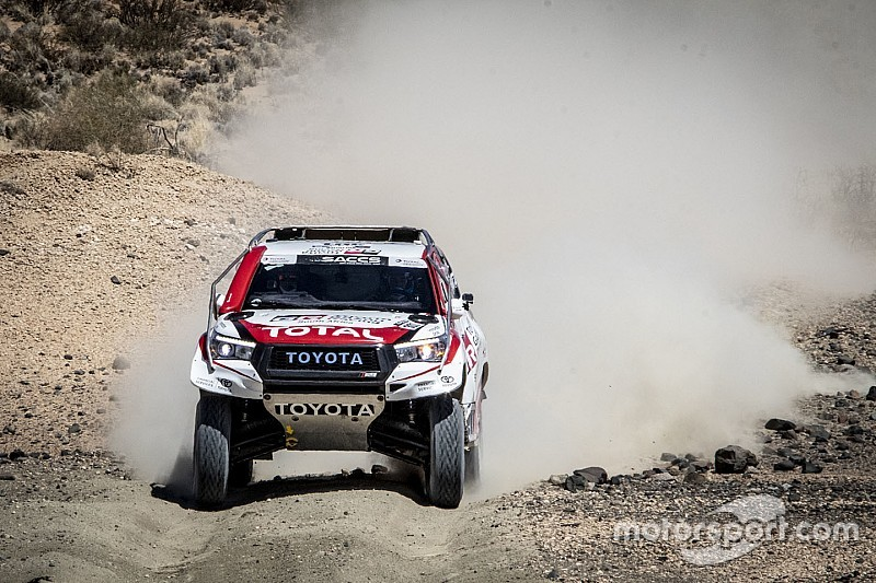 "Alonso: Dakar Toyota ""takes more abuse"" than I'm used to"