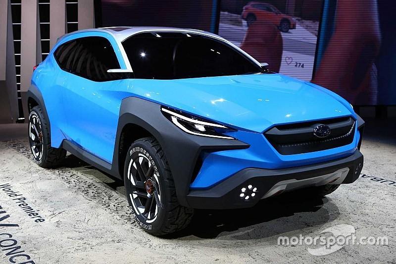 Subaru показала «хоробрий» кросовер Viziv Adrenaline
