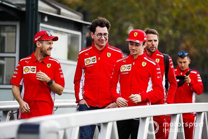 Бинотто пообещал оставить в Ferrari опытных гонщиков на 2021 год