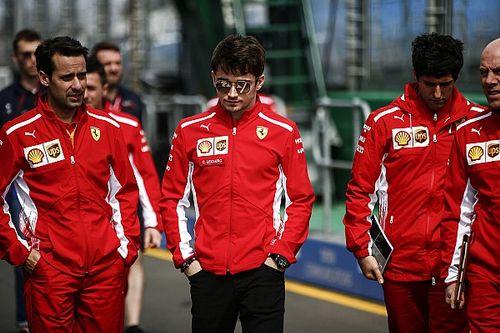 """Leclerc: """"L'anno scorso ero più teso, oggi conosco di più l'ambiente della F1"""""""