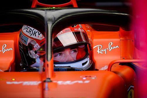 Dominacja Ferrari, Leclerc przed Vettelem