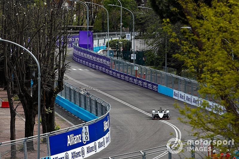 Rowland verbreekt ronderecord in eerste training Rome ePrix