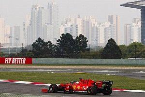 Vettel és a pénteki nap képekben: pályán a Ferrari SF90