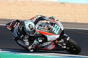 Moto2 in Katar FT1: Schrötter fährt erste Bestzeit mit den neuen Triumph-Motoren