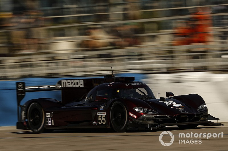 Sebring 12 Hours: Tincknell maintains Mazda advantage in FP3