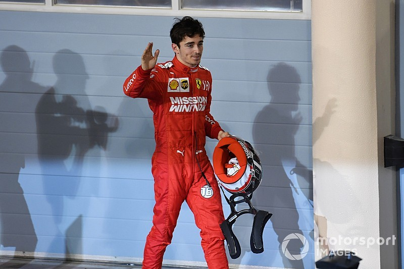 Was Leclerc's Bahrain reaction a 2019 title 'campaign speech'?