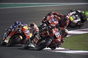 El semáforo del Gran Premio de Qatar de MotoGP