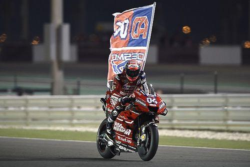 MotoGPカタールGP決勝レポート:マルケスとのバトルを制し、ドヴィツィオーゾが初戦優勝! 中上貴晶は9位シングルフィニッシュ