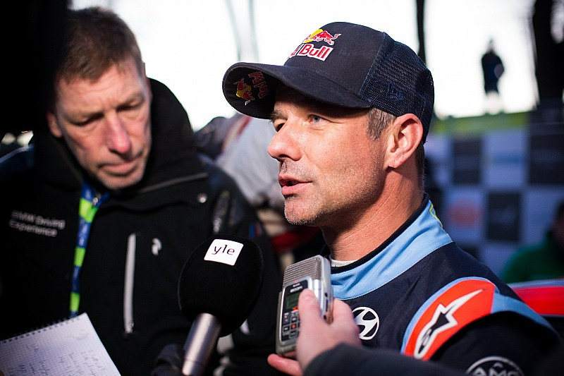 Loeb in big testing crash ahead of Rally Sweden