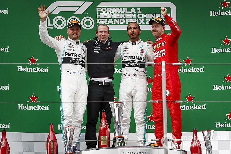 Гран Прі Китаю: Mercedes зробила третій дубль поспіль